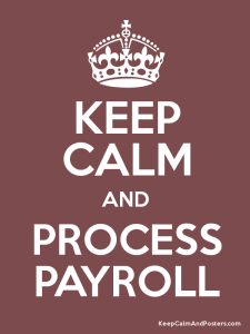 Payroll Time!